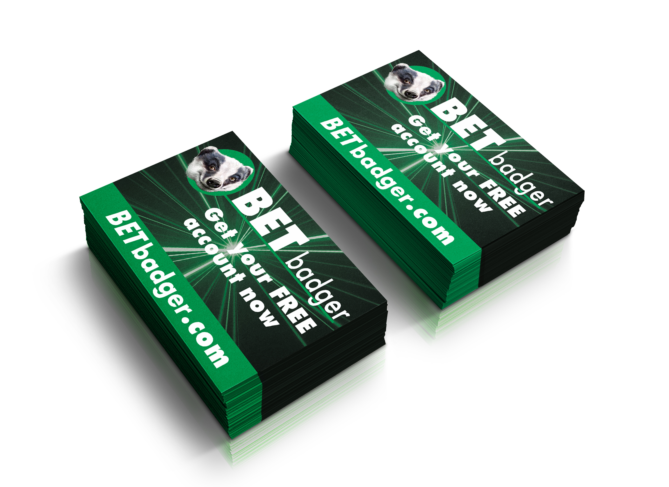Bet Badger Business Card