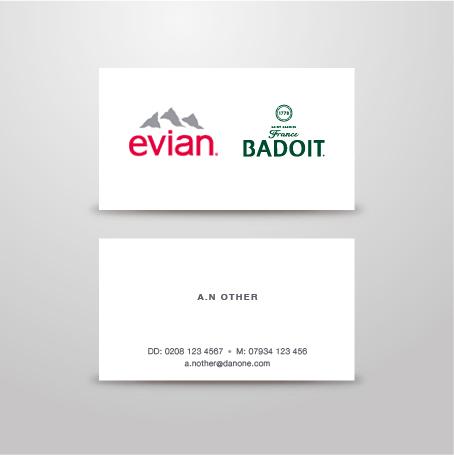 Danone / Evian Stationery