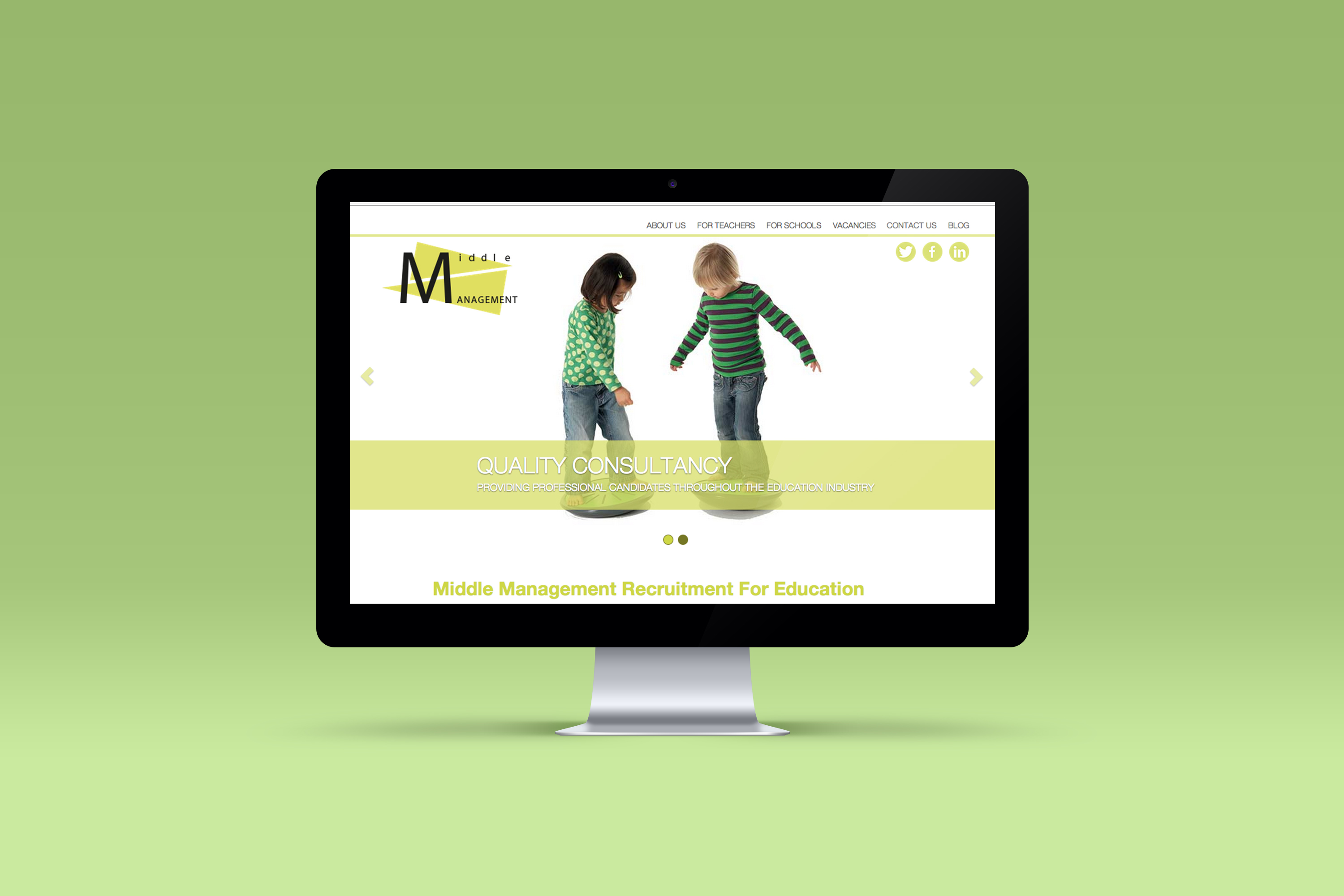 Middel Management Website